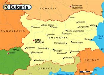 Karta Na Bulgaria.Bulgaria Przewodnik Ciekawostki Kultura Wizy Porady
