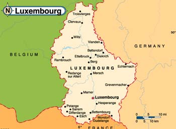 luksemburg mapa LUKSEMBURG   przewodnik, ciekawostki, kultura, wizy, porady  luksemburg mapa
