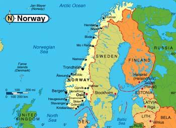 Norwegia Przewodnik Ciekawostki Kultura Wizy Porady