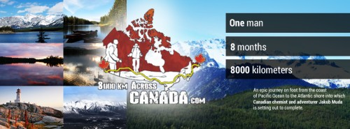 8000km Across Canada