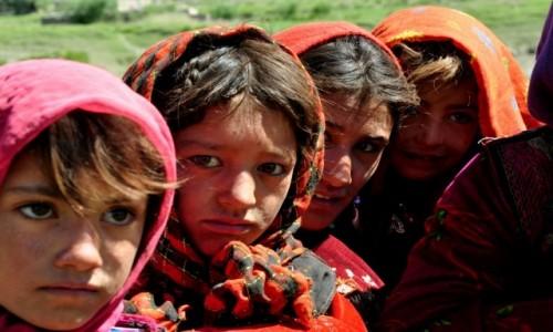 Zdjecie AFGANISTAN / Wakhan Corridor / Sarhad e Broghil / Dziewczynki z plemienia Wakhi