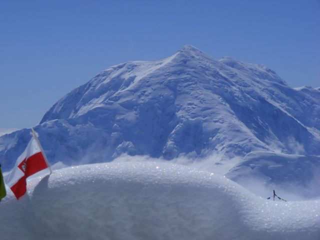 "Zdjęcia: oboz ""czternastka"", Alaska, Foraker, ALASKA"