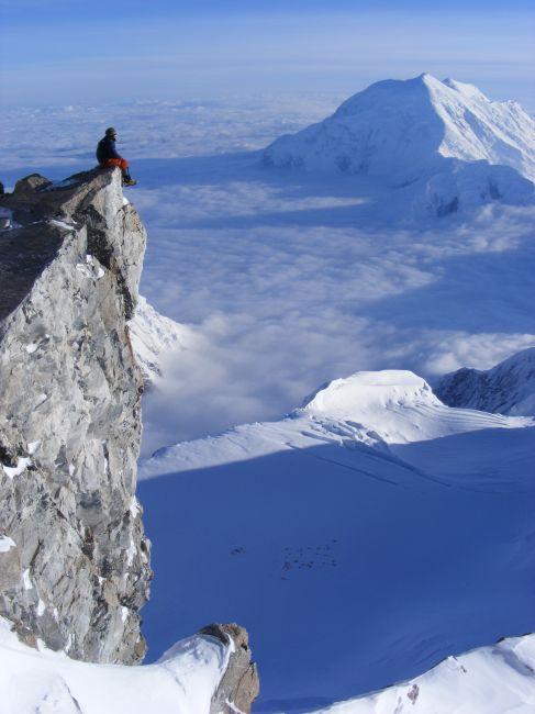 Zdjęcia: na kamieniu, siedemnastka, na skraju glazu, ALASKA
