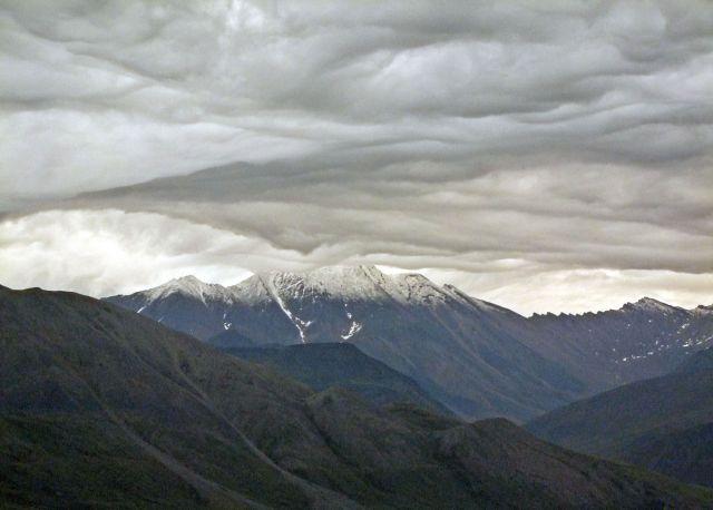 Zdjęcia: North Slope / Brooks Range, chmurki w gorach Brooksa, ALASKA