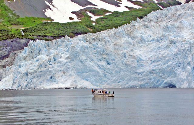Zdjęcia: Gulf of Alaska / Aialik Bay, lodowiec Aialik 4, ALASKA