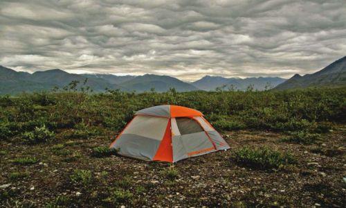 Zdjęcie ALASKA / - / Gory Brooksa / North Slope / konkurs - biwak lekkostraszny