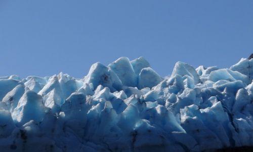 Zdjęcie ALASKA / Półwysep Kenai / Portage Glacier / Konkurs
