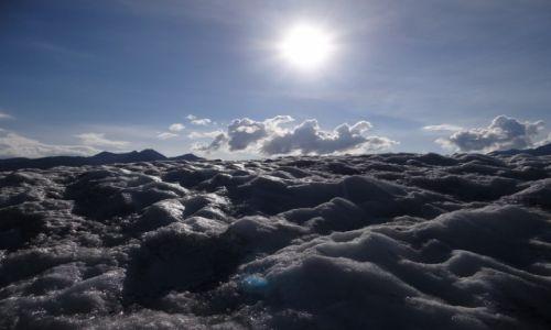Zdjęcie ALASKA / Park Narodowy Wrangla-Świętego Eliasza / Kennicott Glacier / Lodowiec Kennicott