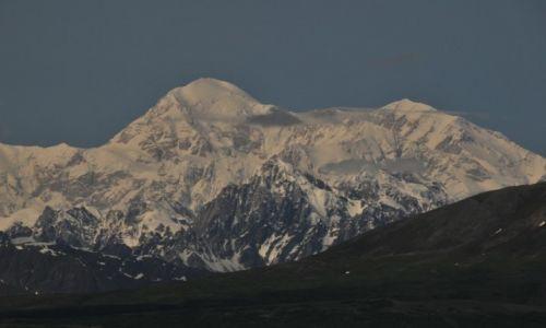 Zdjecie ALASKA / Alaska / Alaska / Ośnieżony Mc Kinlley