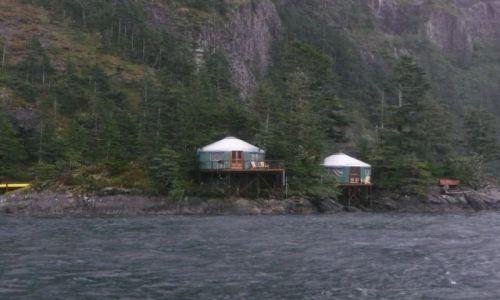 Zdjecie ALASKA / brak / Kenai Fjords Nat'l. Park / domki rybackie