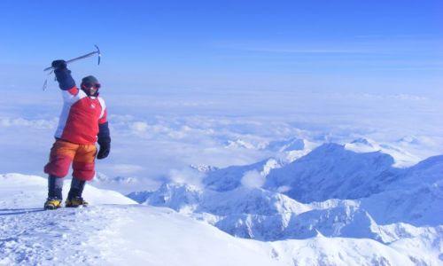 Zdjecie ALASKA / Mt. McKinley - Denali / szczyt / z dachu Ameryki Polnocnej