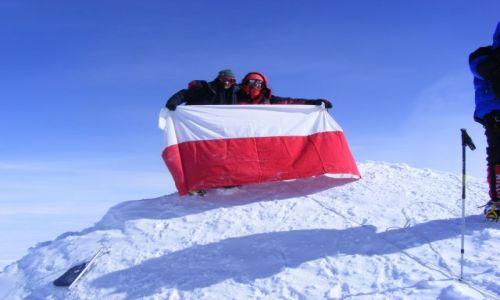 Zdjecie ALASKA / Mt. McKinley - Denali / szczyt / z dachu Ameryki Polnocnej poraz pierwszy