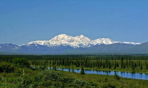 ALASKA / - / Alaska Range / Park Narodowy Denali / McKinley