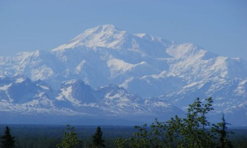 Zdjecie ALASKA / Alaska / Talkeetna / Denali z caly swym wdziekiem :)