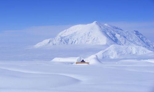 Zdjęcie ALASKA / 4300m / oboz czternastka / a to kibel z widokiem na Forarakera