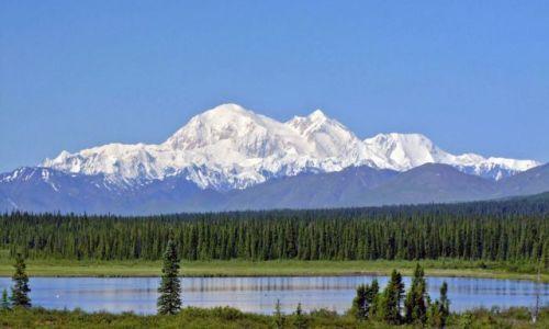Zdjęcie ALASKA / - / Alaska / Denali National Park / Mount McKinley