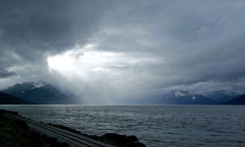 Zdjecie ALASKA / - / Alaska / Gulf of Alaska / Turnagain Arm / Zatoka Turnagain