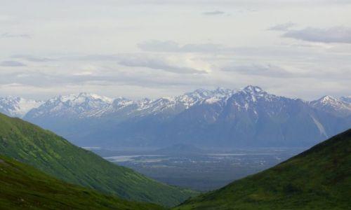 Zdjęcie ALASKA / - / Alaska / Chugach Mountains / Gory Chugach