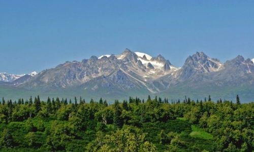 Zdjęcie ALASKA / - / Alaska / Denali NP / Mount Foraker