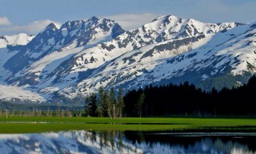 Zdjecie ALASKA / - / Polwysep Kenai / Kenai Mountains