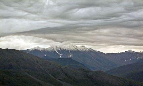 Zdjęcie ALASKA / - / North Slope / Brooks Range / chmurki w gorach Brooksa