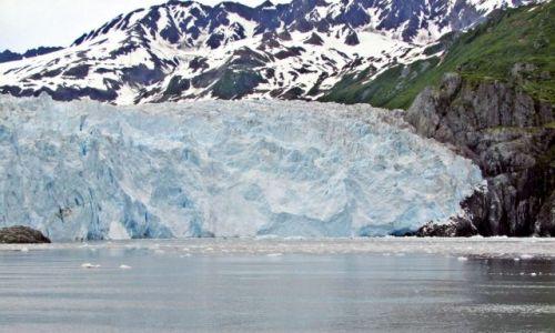 Zdjęcie ALASKA / - / Gulf of Alaska / Aialik Bay / lodowiec Aialik 3