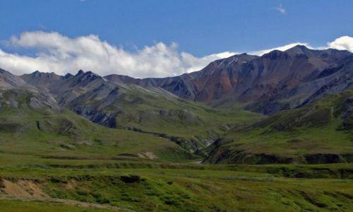 Zdjęcie ALASKA / - / Alaska Range / Gory Alaska 2