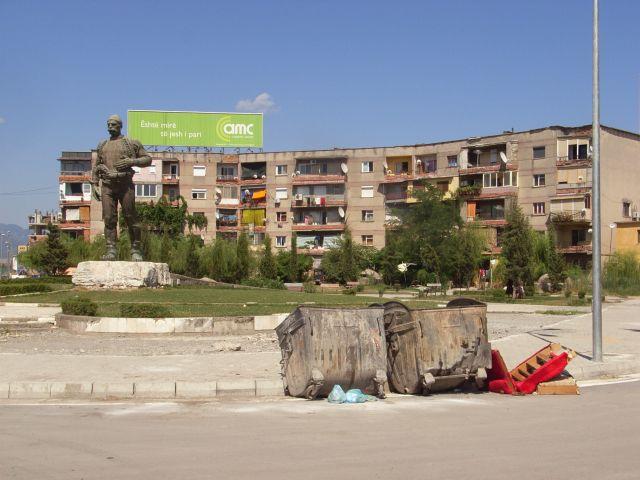 Zdjęcia: Miasto Szkoder, pomnik, ALBANIA