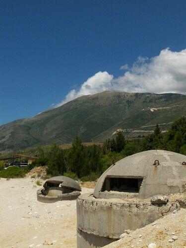 Zdjęcia: Drymades, Wybrzeże Jońskie, stały element krajobrazu, ALBANIA