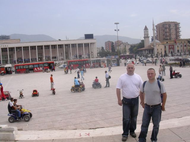 Zdjęcia: Tirana, Albania, Plac Skadenberga-Tirana, ALBANIA
