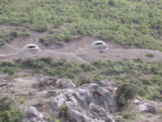Zdjęcia: Albania, Albania, Bunkry, dużo bunkrów-Albania, ALBANIA