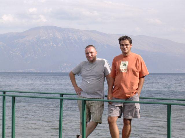 Zdjęcia: Jezioro Ochryd, Albania, Jezioro Ochrydzkie od strony Albani, ALBANIA