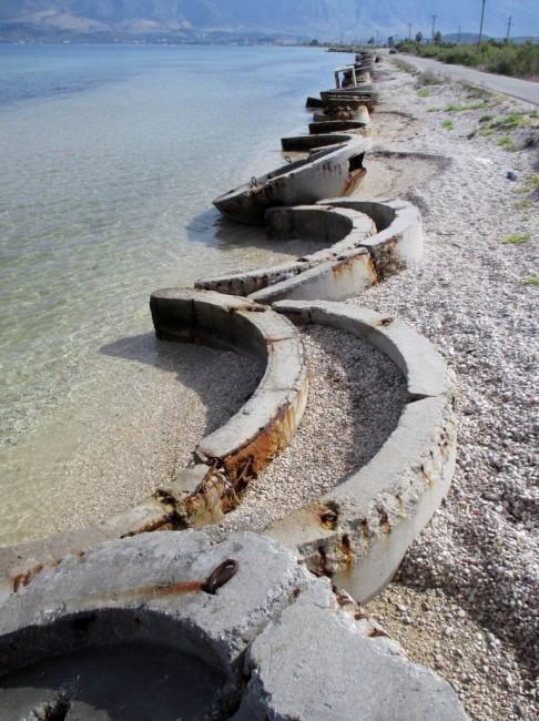 Zdjęcia: Baza wojskowa, Oricum, Smutny koniec marzenia Hodży, ALBANIA