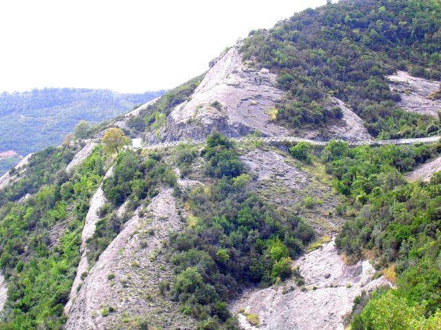 Zdjęcia: W pobliżu Tirany, Albania, Droga, ALBANIA
