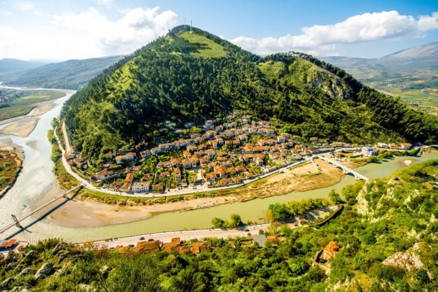 Zdjęcia:  ,    , Albańskie krajobrazy, ALBANIA