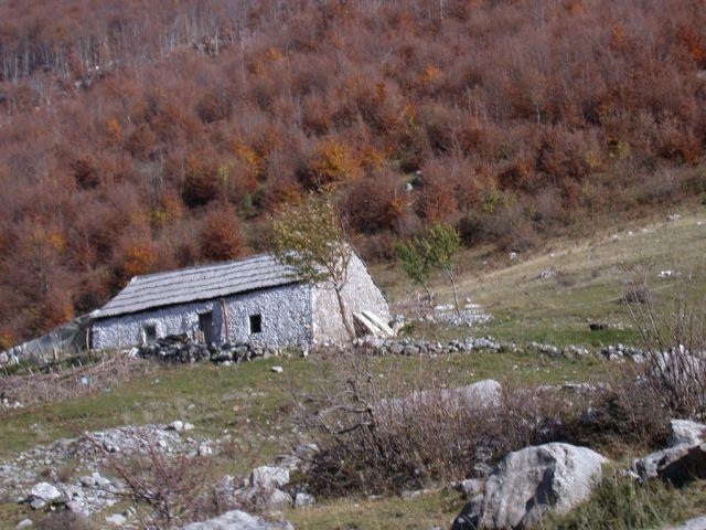 Zdjęcia: okolice Koplika, Chatka, ALBANIA