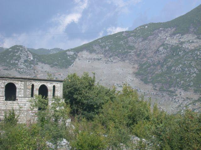 Zdj�cia: okolice granicy z Czarnog�r�, Wjazd do Albanii, ALBANIA