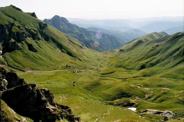 Zdjęcia: Góry Korab, Widok na Macedonie, ALBANIA