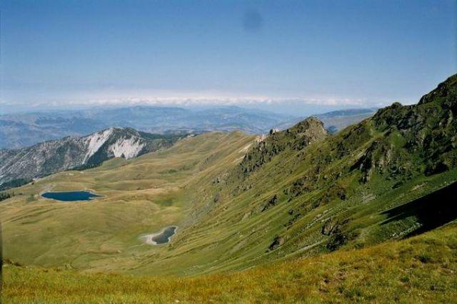 Zdjęcia: Góry Korab, Widok na Albanię, ALBANIA