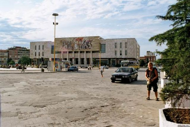 Zdjęcia: Tirana, Muzeum Historyczne, ALBANIA