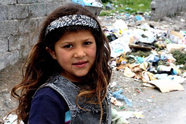 Zdjęcia: Shkoder, Albańska cyganka, ALBANIA