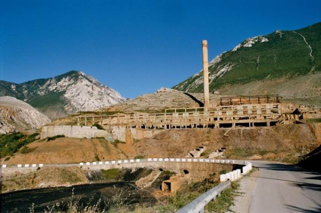 Zdjęcia: Gjegjan, Fabryka, ALBANIA