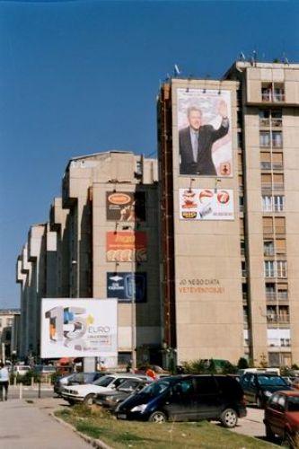 Zdjęcia: Pristina, Kosowo, Ul. Billa Clintona, ALBANIA