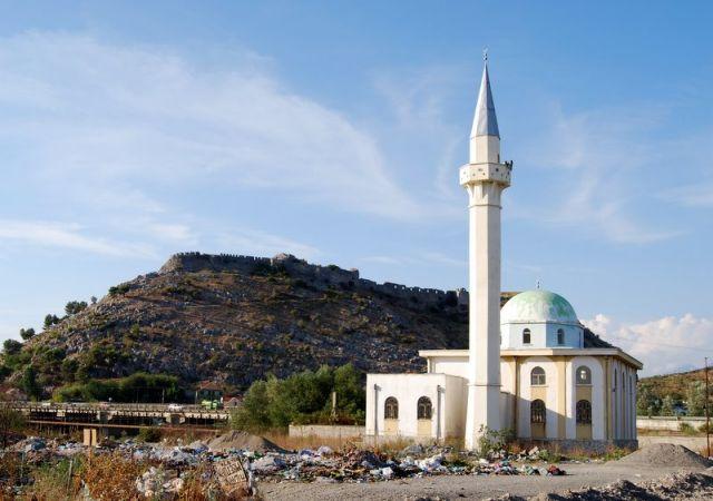 Zdjęcia: Barbullush, Shkoder, Chyba zapomniany?, ALBANIA