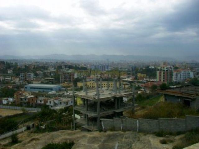 Zdj�cia:  Dajti, okolice Tirany, Tirana z gory, ALBANIA