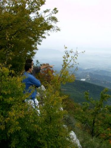 Zdjęcia: Dajti, okolice Tirany, Widok na Tirane, ALBANIA