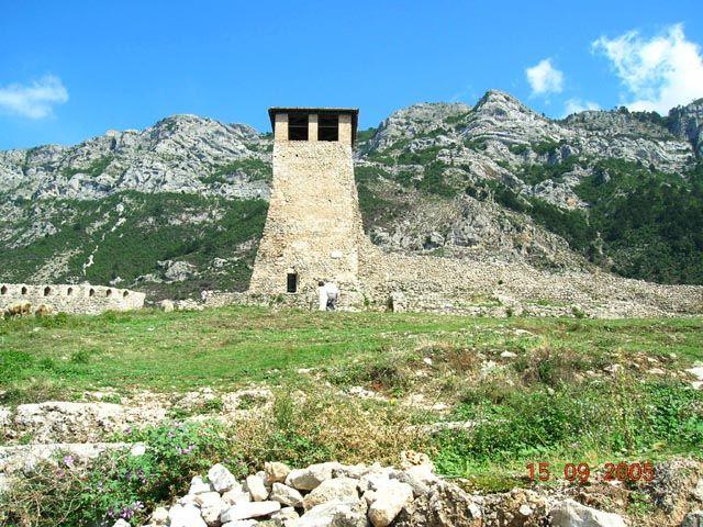 Zdjęcia: Kruja, Albania, Kulla - albański dom obronny, ALBANIA