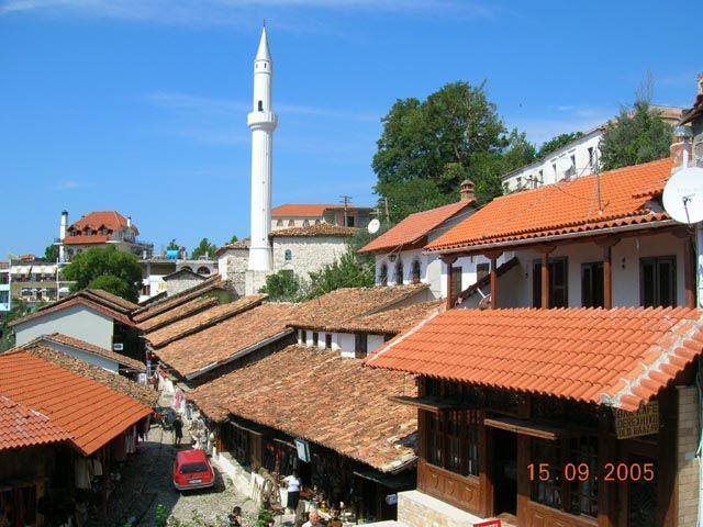 Zdj�cia: Kruja, Albania, Panorama Kruji, ALBANIA