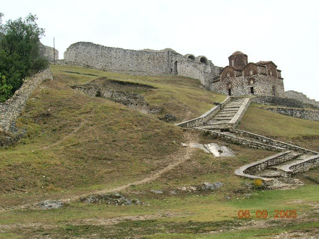 Zdjęcia: Berat, Albania, cerkiew Św. Trójcy, ALBANIA