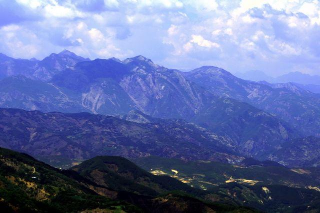 Zdjęcia: Góry Albanii, Góry o zmierzchu, ALBANIA